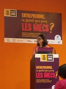 Valérie March au Salon SME 2016