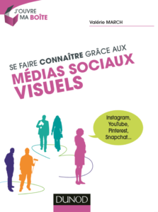 Se faire connaître grâce aux médias sociaux visuels | Instagram, YouTube, Pinterest, Snapchat par Valérie March
